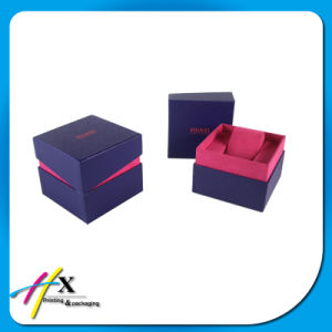 Custom Watch Packing Paper Box with Pillow pictures & photos