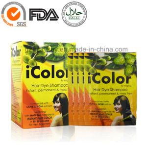 Icolor Hair Dye Shampoo pictures & photos