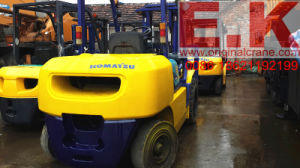 Original Japan 5ton Diesel Forklift Used Komatsu Forklift (FD50) pictures & photos