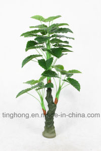 Home Decoration Artificial Plants with 36 Water Lotus Leaves