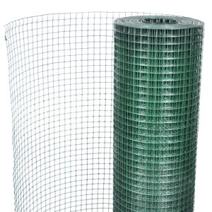 1 Inch Hole Green PVC Welded Mesh Panel pictures & photos