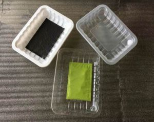 Dairy Meat Fish Poultry Use Disposable Plastic Meat Cover Tray with Absorbent Meat Pad pictures & photos