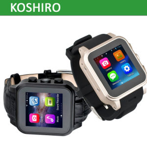 Android SIM Card Watch Cell Phone with Bluetooth Smart Watch pictures & photos