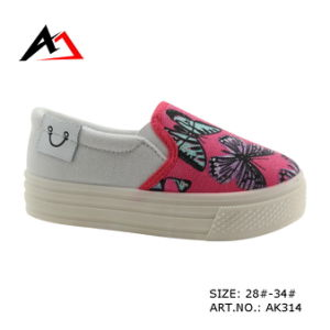 Injection Canvas Printing School Boots for Ladies Girls Women (AK314) pictures & photos