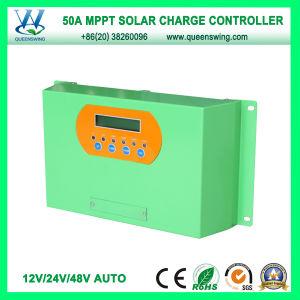 MPPT 50A 12/24/48V Solar Regulator for Solar Power System (QWM-JR50A) pictures & photos