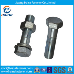 Galvanized /Zinc Plated/ Hot DIP Galvanized /8.8grade /4.8grade Hexagon Head Bolts &Nuts pictures & photos
