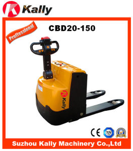 2000 Capacity Electric Pallet Truck with Light and Low Noise