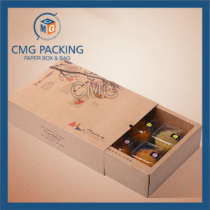 Recycled Good Grade Brown Kraft Cardboard Pastry Box (CMG-cake box-022) pictures & photos