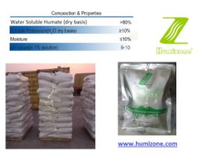 Humizone Humic Acid Fertilizer: Potassium Humate 80% Granular (H080-G) pictures & photos