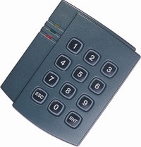 13.56MHz IC Smart Card Standalone Access Control Keypad Access Controller pictures & photos