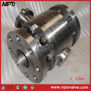 Forged Steel Flanged Trunnion Mounted Ball Valve (Q47F) pictures & photos