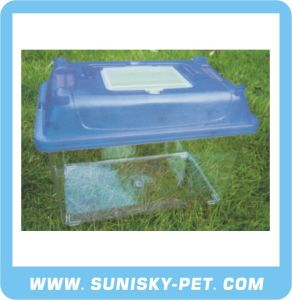 Transparent Plastic Pet Carrier (SFT-270C) pictures & photos