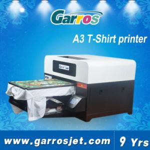 Garros 2016 A3 Digital T-Shirt Flatbed 3D Textile Printing Printer Machine pictures & photos