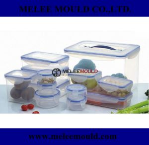 Lock Plastic Food Container Mold pictures & photos