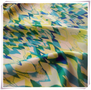 Polyester Chiffon Printing Fabric with Spandex for Lady′s Dress, pictures & photos