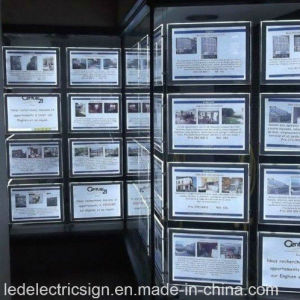 LED Crystal Mirror Window Display pictures & photos