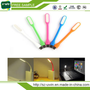 Portable USB Lamp USB LED Light with Logo Printed pictures & photos