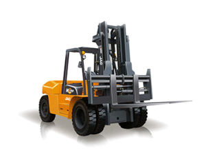 Professional Supplier of Diesel Forklift 10ton pictures & photos