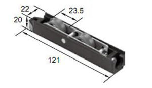 Best Pompous Roller R8299 for Aluminum Door & Window pictures & photos