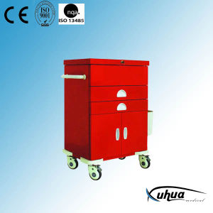 High Quality Hospital Medical Medicine Trolley/Cart (N-6) pictures & photos
