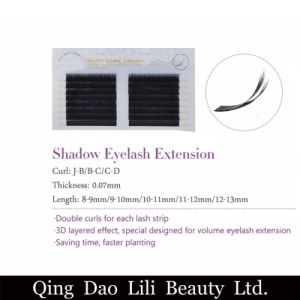 Lilibeauty New Double Layers Fanned Volume Eyelash Extension pictures & photos