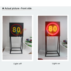 New Design Speed Limit Aluminum Road Safety LED Road Sign pictures & photos