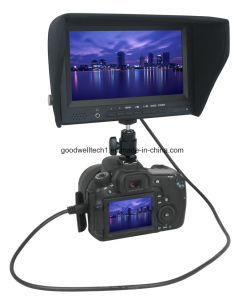 """7""""on Camera Field Monitor with High Brightness 450CD/M2, HDMI in/out pictures & photos"""