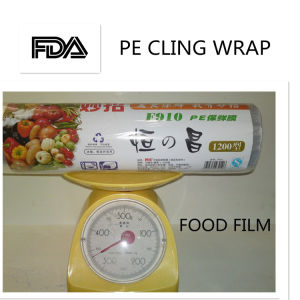 Transparent PE Protective Stretch Cling Film for Pallet Wrap pictures & photos