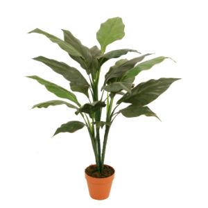 "Artificial Plants 92cm Banana with 6""Plastic Pot, 20 Lvs"