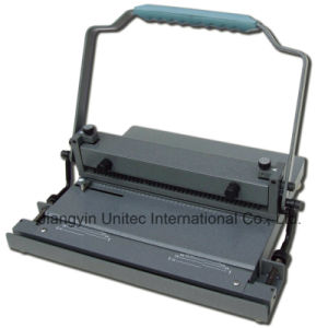 China New Innovative Product Wire Binding Machine Wb-2230 pictures & photos