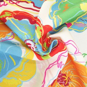 Beautifal Washer Velvet Printing Fabric pictures & photos