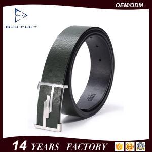 Factory Offer Custom Metal Buckle Belt Men Leather Waist Belts pictures & photos