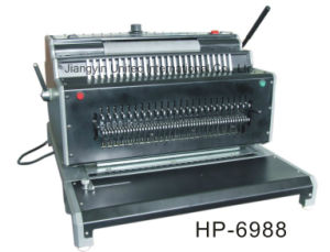 Heavy Duty Electric Combination Binding Machine for HP-6988