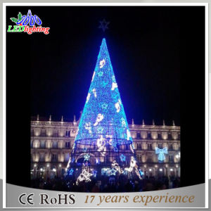 2017 Outdoor Shopping Mall Large christmas Tree with LED Lights pictures & photos