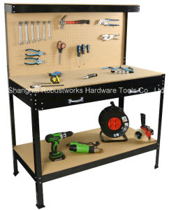 Heavy Duty Workbench with Single Large Drawer (WB005) pictures & photos
