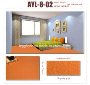 Non-Slip Durable PVC Vinyl Covering Laminate Flooring Commercial Floor pictures & photos