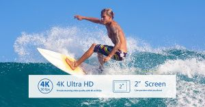 2017 4k 170 Degree WiFi Camera Go PRO Standard Waterproof Camera pictures & photos