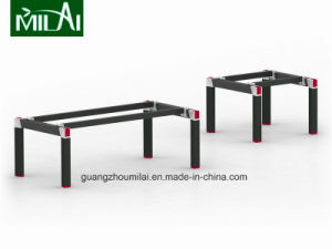 Contemporary Simple Design Stainless Steel Leg Negotiation Table pictures & photos