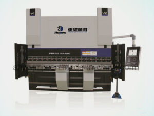 We67k 300t/3200 Dual Servo Electro-Hydraulic CNC Press Brake