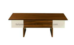 Modern Simple Wooden Walnut Coffee Table (B512-1.2) pictures & photos