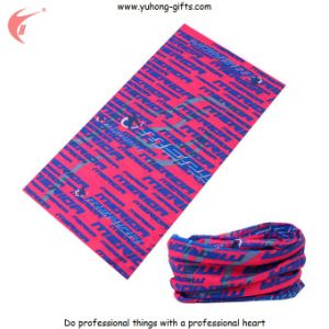 Multifunctional Seamless Buff Scarf for Promotion (YH-HS064) pictures & photos