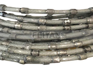 Granite Diamond Wire & Beads for Stationary Machine (WITHOUT CONNECTOR) pictures & photos