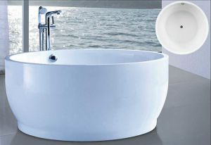 Dia1500mm Modern Hot Tub (AT-6118) pictures & photos