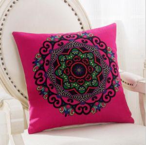 Decorative Faux Linen Texture Handmade Pillow Case Cushion Cover (DPF107144) pictures & photos