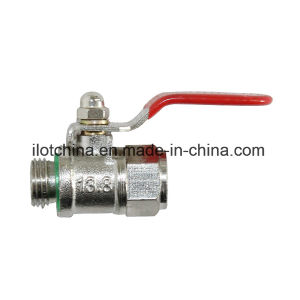 Ilot Brass Valve External Thread Connection Switch pictures & photos