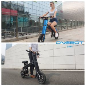 12 Inch 36V 250W/500W Folding Electric Bike with LED Headlight, Taillight, Turn Signals pictures & photos