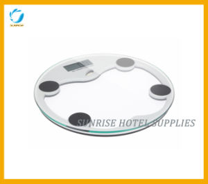Round Shape Digital Scale Weighing Scale for Hotel pictures & photos