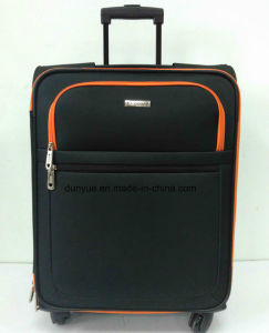 """Factory Low MOQ Oxford Fabric 16"""", 20"""", 24"""", 28"""" Universal Wheels Travel Rolling Luggage Bag Set, Custom Make Trolley Case pictures & photos"""
