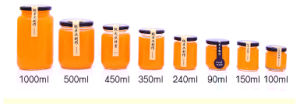150ml 250ml 380ml--730ml Glass Honey Jar Sealed Jam Jar pictures & photos