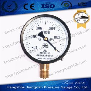 Vacuum Pressure Gauge with 1.6 Accuracy pictures & photos
